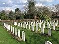 Canadian Corner, Orpington Cemetery - geograph.org.uk - 1103226.jpg