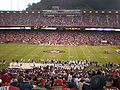 Candlestick Park field from section 43, lower level.JPG