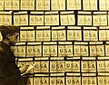 Candy in storage for American troops, E. Josse Candy Factory Paris, France, 1919 (31337607863).jpg