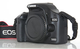 Image illustrative de l'article Canon EOS 500D