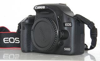 Canon EOS 500D digital camera model