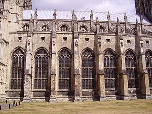 Henry Yevele - Image: Canterbury Cathedral 04
