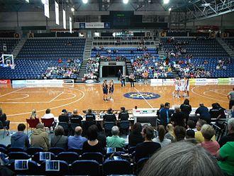 AIS Arena - Canberra Capitals at the AIS Arena
