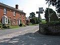 Capler Lane meets the B4224, Fownhope - geograph.org.uk - 532844.jpg