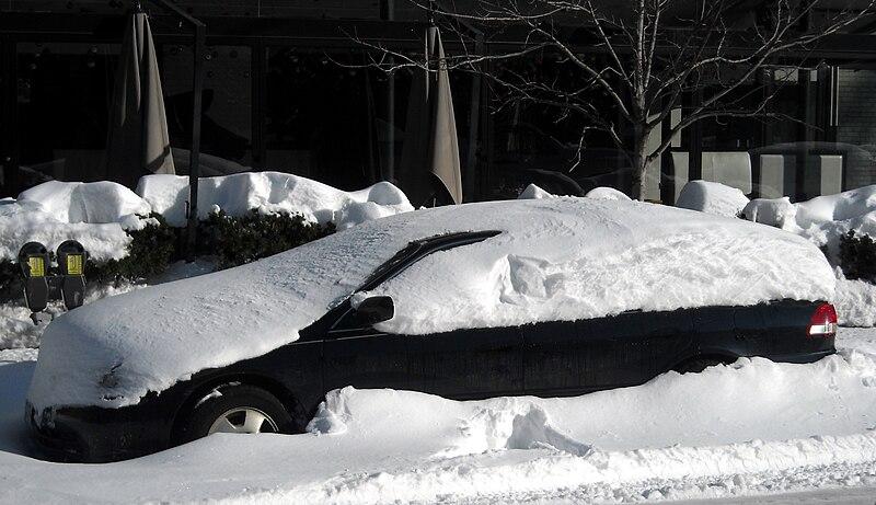 File:Car covered in snow.JPG