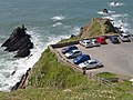 Car park at Hartland Quay - geograph.org.uk - 506300.jpg