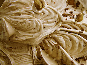 Caramel Nut Ice Cream