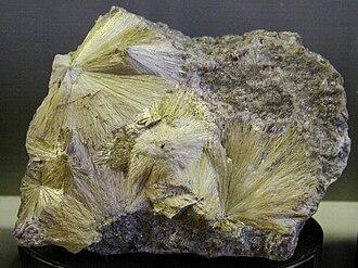 Carpholite - Image: Carfolite