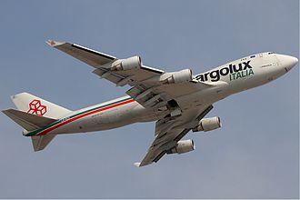 Cargolux Italia - Cargolux Italia Boeing 747-400F in former livery