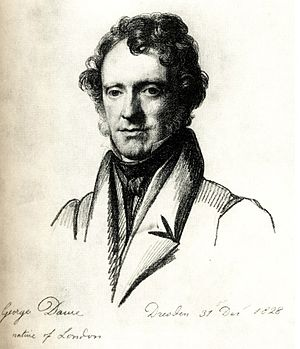 George Dawe - George Dawe, by Carl Christian Vogel von Vogelstein (1828)