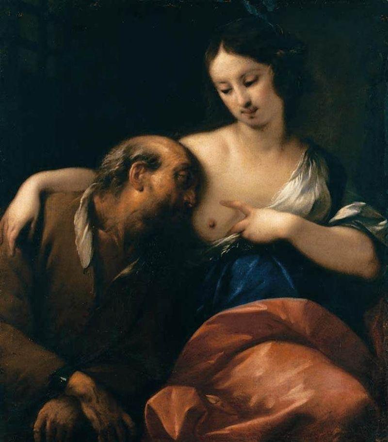 Карло Франческо Нуволоне - Римская благотворительность - WGA16605.jpg