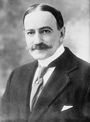 Carlos Manuel de Céspedes y Quesada - Céspedes y Quesada circa 1914 as ambassador to the United States