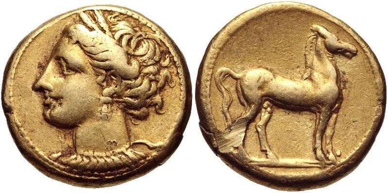 Carthage EL shekel 2250013
