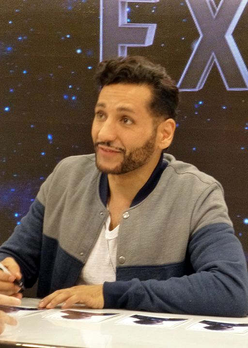 Cas Anvar at 2015 Fan Expo Canada 1