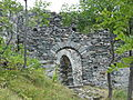 Castello di Graines entrata.JPG