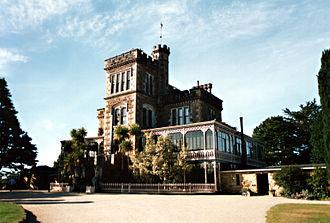 Robert Lawson (architect) - Larnach Castle, the principal facade