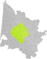 Castres-Gironde (Gironde) dans son Arrondissement.png