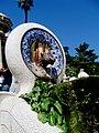 Catalogne Barcelone Parc Guell Esplanade Escalier 24092009 - panoramio.jpg