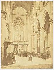 Photographie du jubé de la cathédrale de Rouen