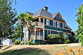 Cathlamet, WA - Queen Anne house with palm trees 02 (19255803484).jpg