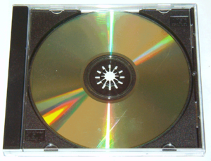 Compact Disc manufacturing - A compact disc in its jewel case.