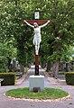 Cemetery cross on the cemetery Perchtoldsdorf, Lower Austria, Austria PNr°0868.jpg