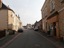 The centre of Les Rairies