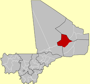 Cercle of Bourem in Mali