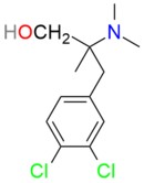 Cericlamine structure.png