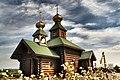 Cerkiew Opieki Matki Bożej w skicie Świętych Antoniego i Teodozjusza Pieczerskich w Odrynkach (Panoramio 123046099).jpg