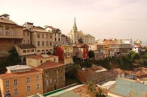 Valparaíso Region - Hills in Valparaiso.