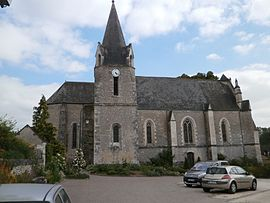 The church of Saint-Pierre-ès-Liens, in Chédigny