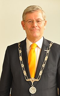 Ch.B. (Charlie) Aptroot, burgemeester van Zoetermeer.JPG