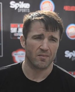 Chael Sonnen American professional wrestler and mixed martial arts fighter