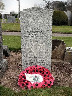 Charles Melvin Recipient of the Victoria Cross