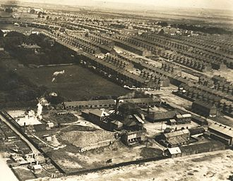 Benwell and Scotswood - Charlotte Pit in Benwell around 1935.