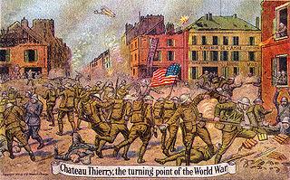 Battle of Château-Thierry (1918) 1918 World War I battle