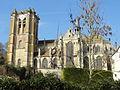 Chaumont-en-Vexin (60), église Saint-Jean-Baptiste, vue depuis le sud 1.JPG
