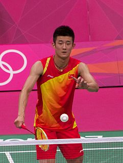 Chen Long Badminton player