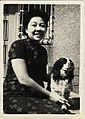 Chen Xiu-xi with dog in Keelung.jpg