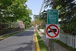Chevy Chase Section Three, Maryland Village in Maryland, United States