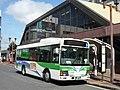 Chiba Green Bus CG-183 at Yotsukaido Station.jpg