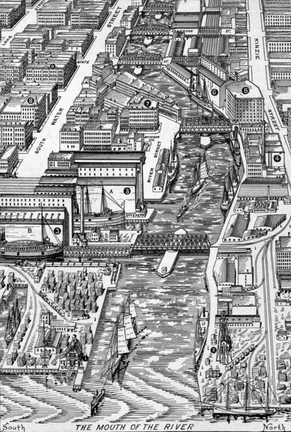 Chicago River 1893