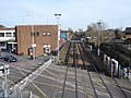 Chichester - view east from the station footbridge - geograph.org.uk - 1183127.jpg