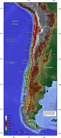 Chilenska studenter stormade mote
