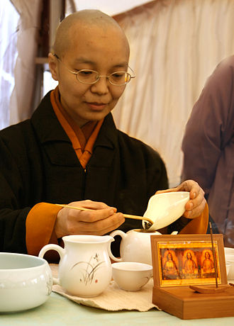 Bhikkhunī - Full bhikṣuṇī ordination is common in the Dharmaguptaka lineage. Vesak, Taiwan