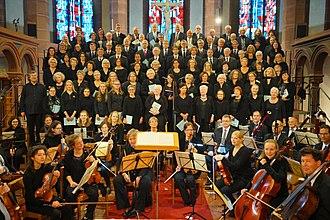 Chor von St. Bonifatius - Image: Chor von St. Bonifatius, Wiesbaden