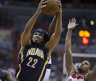 Chris Copeland - Copeland with the Pacers in November 2014