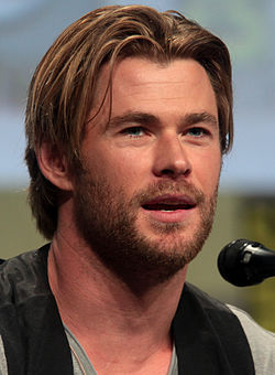 Chris Hemsworth juli 2014.