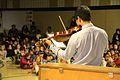 Christ School musician performs on violin.JPG